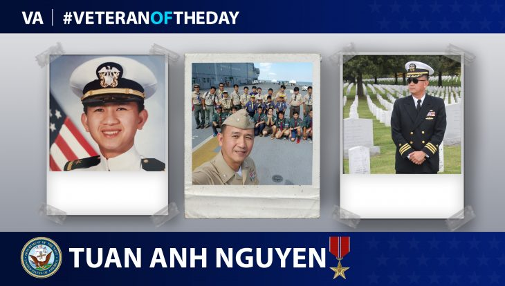 Tuan Anh Nguyen is today's Veteran of the Day.
