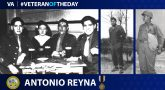 Army Veteran Antonio Reyna is today's Veteran of the Day.