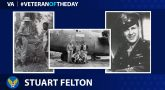 Army Air Corps Veteran Stuart Felton is today's Veteran of the Day.