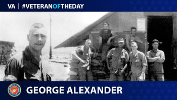 Marine Corps Veteran George William Alexander is today's Veteran of the Day.