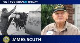 James South is today's Veteran of the Day.