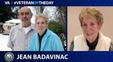 Navy Veteran Jean M. Badavinac is today's Veteran of the Day.