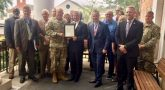 Columbia, South Carolina has been recognized as a Veteran Friendly Community and it was presented with a certificate of appreciation.