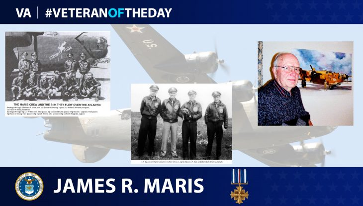 Air Force Veteran James Maris is today's Veteran of the Day.