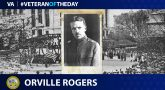 Army Veteran Orville F. Rogers is today's Veteran of the Day.
