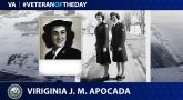 Navy Veteran Virginia Jenness Millett Apocada is today's Veteran of the Day.