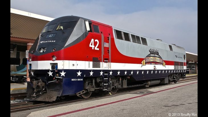 Amtrak train 42 was dedicated to Joseph H. Boardman, President and CEO of Amtrak, 2008-2016, U.S. Air Force Vietnam Veteran.