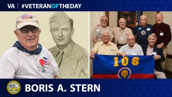 Army Veteran Boris A. Stern is today's Veteran of the Day.