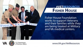 The Fisher House Foundation provides services that make it easier for Veterans and their families to get care at military and the Department of Veterans Affairs medical centers.