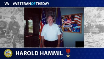 Army Veteran Harold Conan Hammil is today's Veteran of the Day.