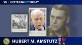 Army Veteran Hubert Menno Amstutz is today's Veteran of the Day.