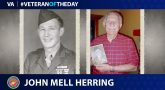 Marine Veteran John Mell Herring is today's Veteran of the Day.