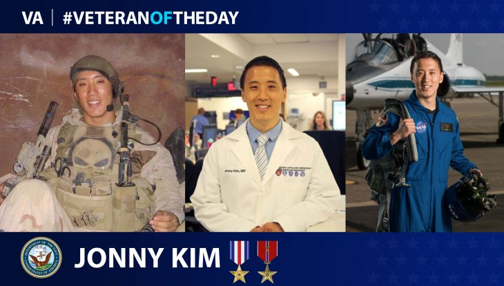 Navy Veteran Jonny Kim is today's Veteran of the Day.