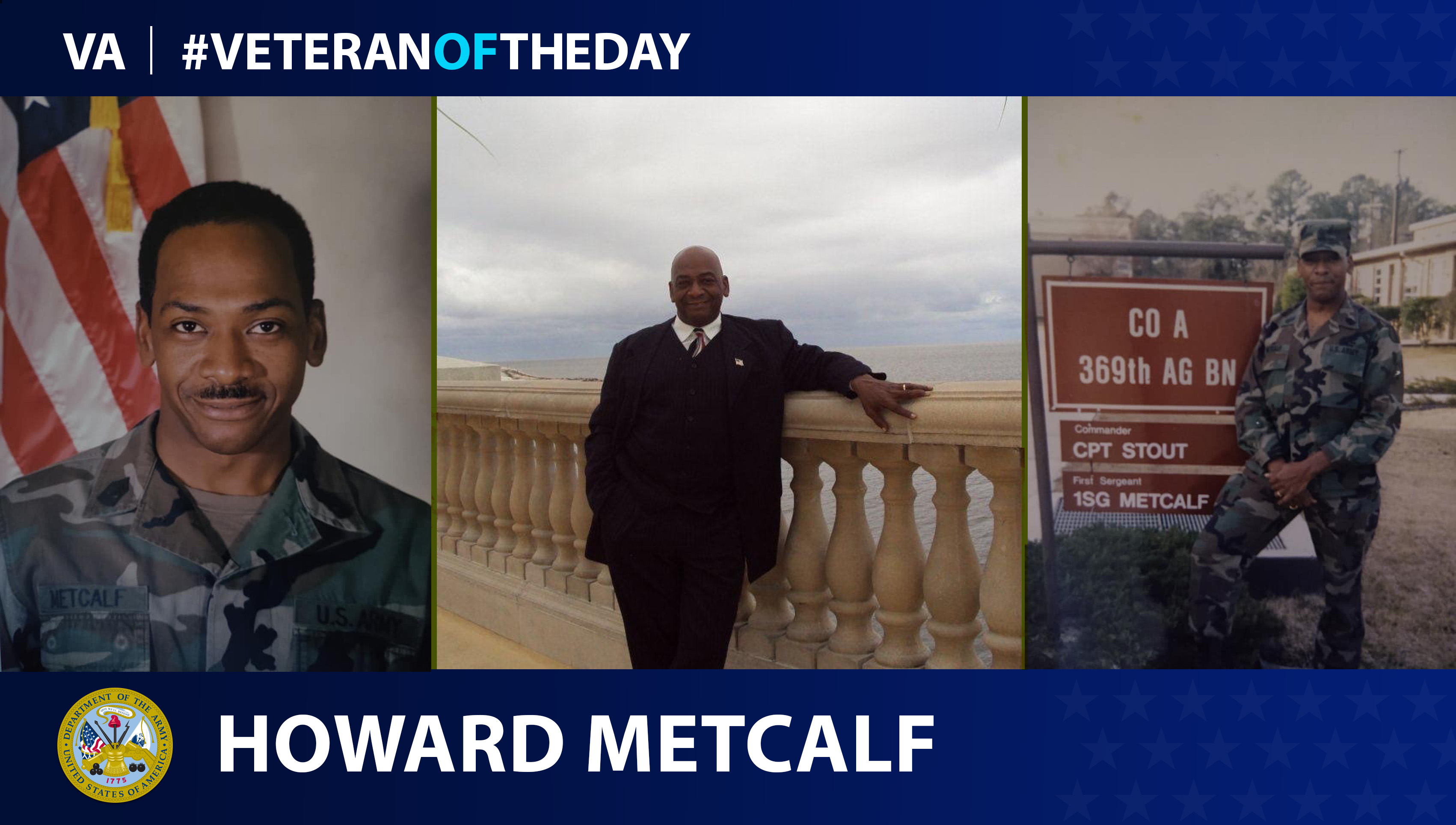 Veteran of the Day...Howard Metcalf
