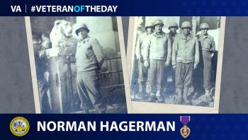 Army Veteran Norman Hagerman is today's Veteran of the Day.