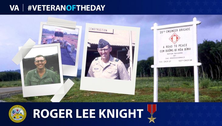 Army Veteran Roger Lee Knight is today's Veteran of the Day.