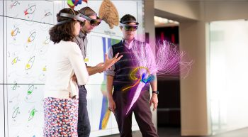 what scientists see using a special HoloLens
