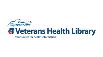 Veterans Health Library logo