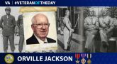 Army Veteran Orville Joseph Jackson is today's Veteran of the Day.