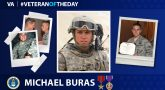Air Force Veteran Michael Buras is today's Veteran of the Day.