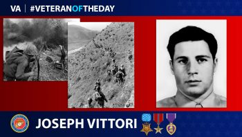 Marine Corps Veteran Joseph Vittori is today's Veteran of the Day.