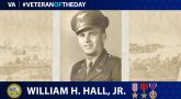 Army Veteran William H. Hall, Jr., is today's Veteran of the Day.