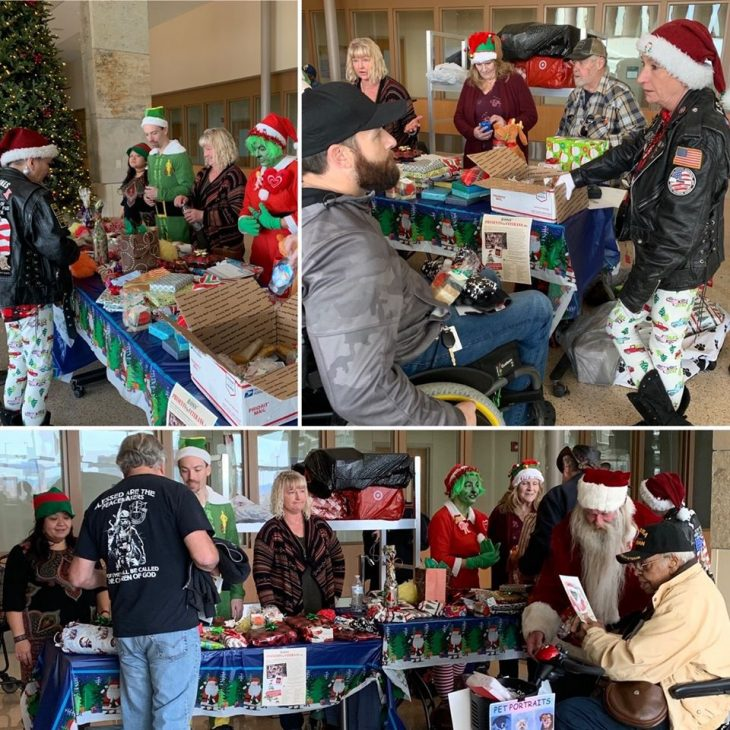Ross' Presents for Veterans at the ECHCS.