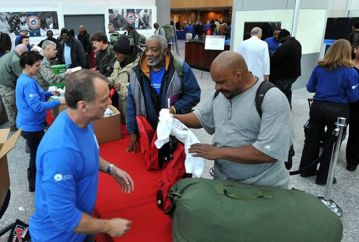 Support efforts to prevent and end Veteran homelessness this holiday season
