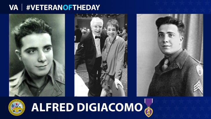 Army Veteran Alfred DiGiacomo is today's Veteran of the Day.