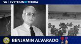 Army Veteran Benjamin Alvarado is today's Veteran of the Day.