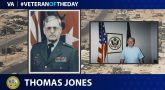 Army Veteran Thomas Pierson Jones is today's Veteran of the Day.