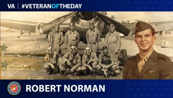 Marine Corps Veteran Robert R. Norman is today's Veteran of the Day.