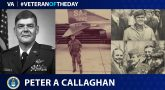 Air Force Veteran Peter A. Callaghan is today's Veteran of the Day.