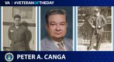 Air Force Veteran Peter Canga is today's Veteran of the Day.