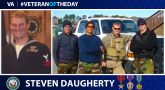 Navy Veteran Steven Daugherty is today's Veteran of the Day.