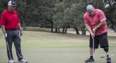 Two men golfing to raise funds for Fisher house