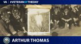 Navy Veteran Arthur James Thomas is today's Veteran of the Day.