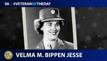 Army Veteran Velma M. Bippen Jesse is today's Veteran of the Day.