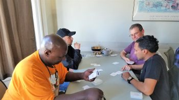 Cards of Connection offer simple coping suggestions to help Veterans.
