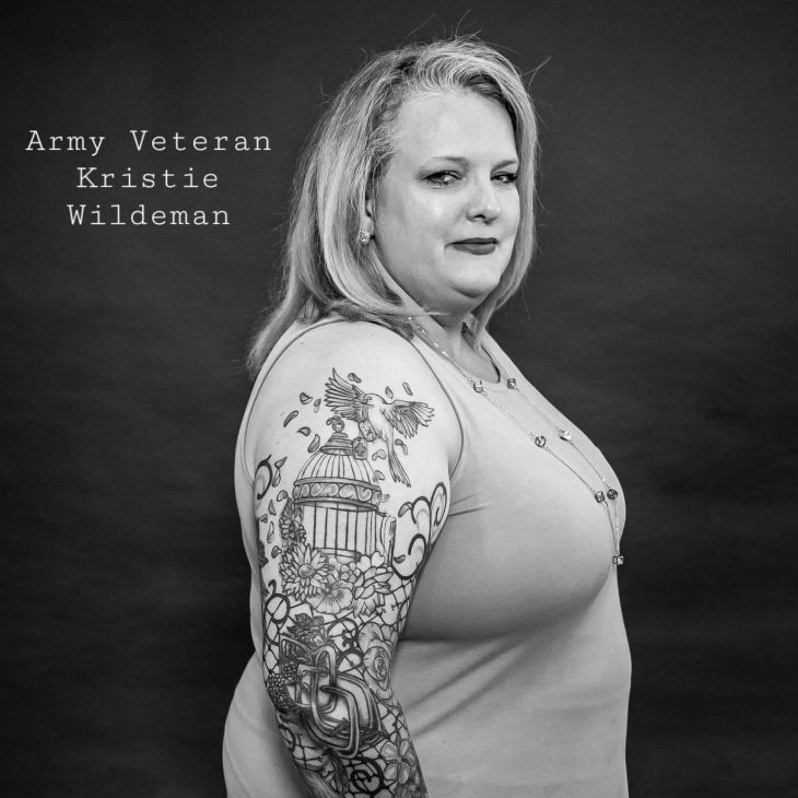Badges of Honor photo project at VA Lexington uses tattoos to open mental health discussion.