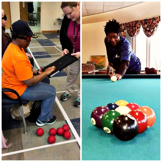 Detroit VA Veterans are practicing for next summer's The National Veteran Golden Age Games.