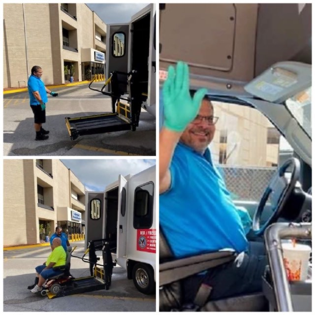 The James A. Haley Veteran Hospital's (JAHVH) Motor Vehicle Transportation operators are transforming relationships with Veterans, caregivers and staff by providing world-class service.