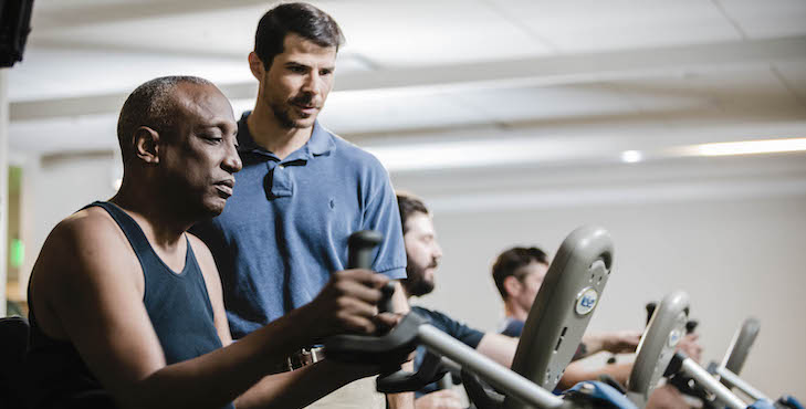 Exercise is another way to manage job search stress.