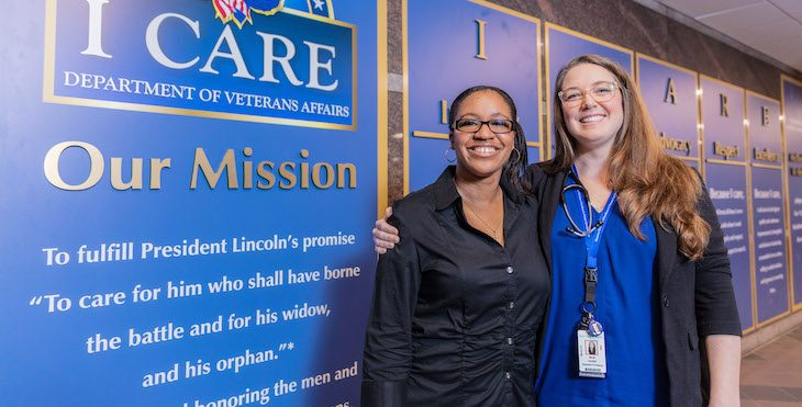 Choose a VA Career and see why VA was named one of the best places to work.