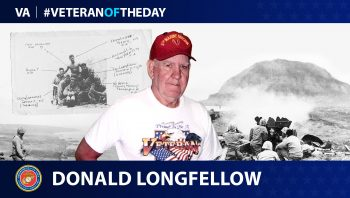 Marine Corps Veteran Donald E. Longfellow is today's Veteran of the Day.