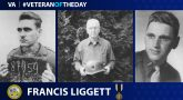 Army Veteran Francis Eugene Liggett is today's Veteran of the Day.