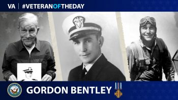 Navy Veteran Gordon Earl Bentley is today's Veteran of the Day.