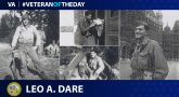 Army Veteran Leo A. Dare is today's Veteran of the Day.
