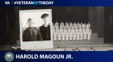 Navy Veteran Harold Ives Magoun Jr. is today's Veteran of the Day.