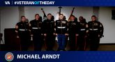 Marine Corps Veteran Micahel Ardnt is today's Veteran of the Day.